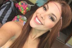 Stephanie Valenzuela se quitó el vestido en La Noche es Mía - VIDEO