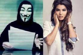 ¿Anonymous ofrece foto privada de Ivana Yturbe? - VIDEO
