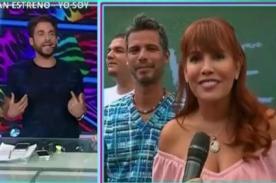 Peluchín pone 'las manos al fuego' por Magaly Medina tras difusión de video bomba