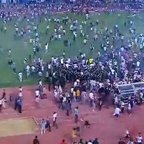 Video: Batalla campal en África deja varios jugadores heridos