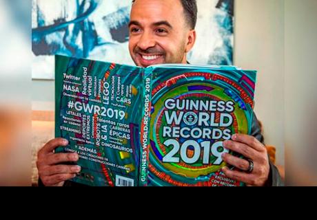 Luis Fonsi recibió 7 récords Guinness y todo se lo debe a 'Despacito'