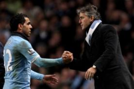 Fútbol inglés: Mancini le da una nueva oportunidad a Tévez