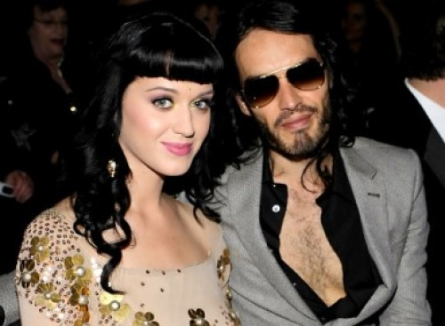 Katy Perry descubrió que Russell Brand tiene videos íntimos de ella