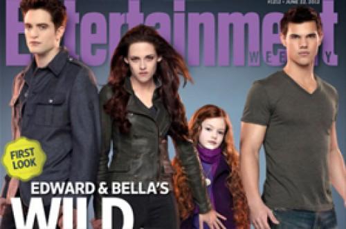Amanecer Parte 2: Nuevas fotos de Edward y Bella con su hija Renesmee