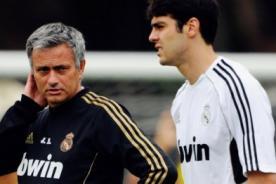 Real Madrid: Mourinho se reúne con Kaká para invitarlo a salir del club