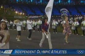Olimpiadas 2012: Atletas sin país desfilaron en los Juegos Olímpicos de Londres