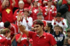Roger Federer superó su primera prueba en las Olimpiadas de Londres 2012
