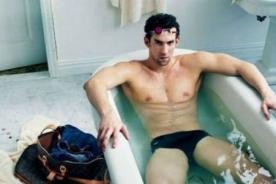 Londres 2012: Michael Phelps es la nueva imagen de Louis Vuitton