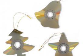 Adornos Navideños: Utiliza un CD viejo para decorar tu Árbol de Navidad