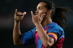 Barcelona: Ronaldinho impidió llegada de Cristiano Ronaldo al club