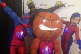 Usain Bolt preparado para el Juego de las Estrellas - NBA All Stars 2013