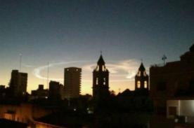 Insólito: Extraña bola de fuego causa susto en Argentina - Video