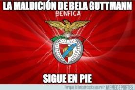 Europa League: Los mejores memes de la maldición del Benfica