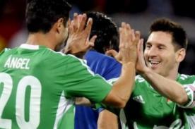 Duelo de Gigantes: Messi y sus amigos brillaron en Colombia - Messi en Perú