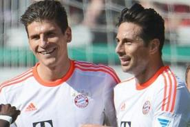 Bayern Munich: Claudio Pizarro afirma que extrañará a Mario Gómez