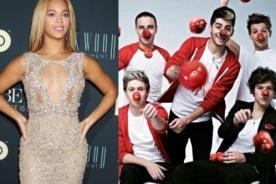 Beyoncé, Coldplay y One Direction entre los mejores en ortografía