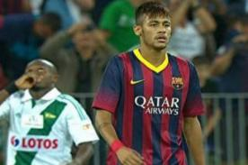 Jugador de Barcelona: Neymar recibirá muchas patadas en España