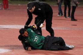 Video: Brutal paliza a un hincha peruano al término del Argentina vs Perú