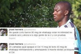 Play Off 2013: Hinchas de Universitario amenazan de muerte a Jhoel Herrera
