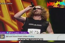 Yo Soy: Imitador de Bon Jovi suelta gallazos en casting - Video