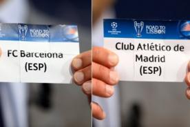 Champions League: Barcelona jugará el 1 de abril contra Atlético de Madrid