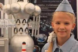 Niña rusa de 13 años crea nave espacial y es miembro de la NASA