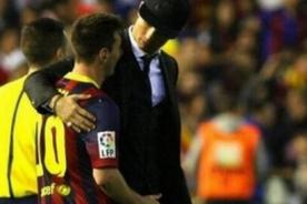 Hinchas conmovidos con gesto de Ronaldo y Messi tras la Copa del Rey
