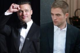 Brad Pitt y Robert Pattinson entre los actores que huelen mal