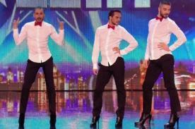 Video: Hombres bailando en tacos causan sensación en Britain's Got Talent