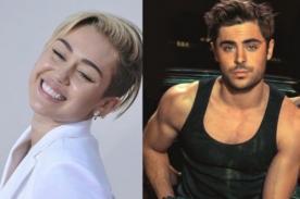Miley Cyrus se imaginó a Zac Efron en concierto - Video