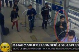 Magaly Solier reconoce agresor de acoso sexual en el Metropolitano [VIDEO]