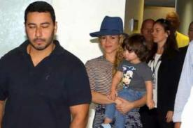 Shakira llegó a Brasil para la clausura del Mundial 2014