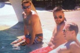 Liam Payne luce su torso desnudo con su novia Sophia Smith [Fotos]