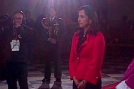 Fiestas Patrias: Nadine Heredia llegó a Misa y Te Deum antes que Ollanta Humala
