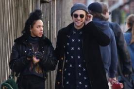 Robert Pattinson encantado con su nueva novia [Fotos]
