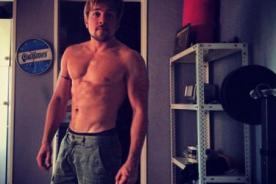 Julián Zucchi sorprende con foto candente mostrando sus músculos