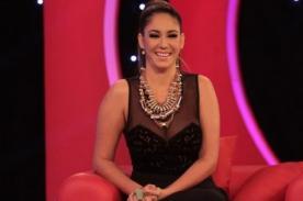 Tilsa Lozano confirma y 'grita' su embarazo en televisión - VIDEO