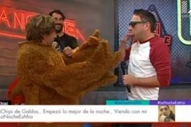 ¿Carlos Galdós se reencontró con su hermano el 'pollo'? - VIDEO