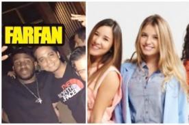 Jefferson Farfán y actriz de VBQ estuvieron más que juntos en tremenda juerga en Barranco