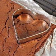 Día del amor: Receta de Brownies de San Valentín