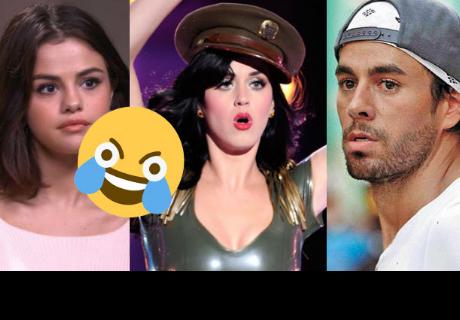 Estos son los artistas que les falló el playback y no pudieron ocultarlo