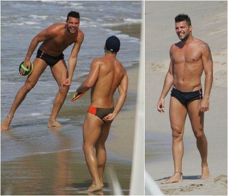 Ricky Martin habría sido chantajeado por un futbolista español