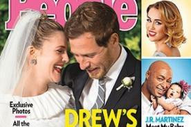 Drew Barrymore: El día de mi matrimonio fue perfecto