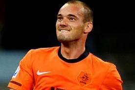 Eurocopa: Golazo de Wesley Sneijder previo al debut de Holanda - Video