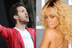 Calvin Harris rechazó propuesta 'cariñosa' de Rihanna