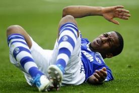 Fútbol peruano: Jefferson Farfán no entrenó con el Schalke 04