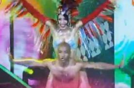 El Gran Show 2012: Waldir Sáenz se lució en la pista de baile - Video