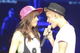 Justin Bieber y Carly Rae Jepsen tienen buena química en el escenario