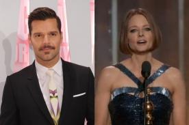 Ricky Martin aplaude a Jodie Foster por aceptar su homosexualidad