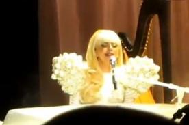 Lady Gaga deleitó en velada de la Casa Blanca - Video